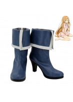 Sword Art Online Asuna Yuuki High Heel Cosplay Shoes Women Boots