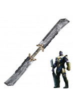 Avengers Endgame Thanos Double-bladed Sword Weapon Cosplay Prop