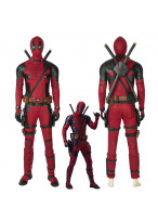Deadpool Wade Wilson Cosplay Costume Version 3