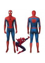 Spider-Man Peter Parker Classic Suit Cosplay Costume Jumpsuit 3D Printed
