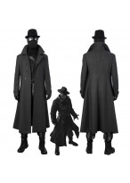 Spider Man: Into the Spider Verse Spider Man Noir Cosplay Costume 3D Printed Version 1