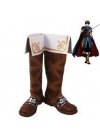 Fire Emblem Marth Cosplay Shoes Men Boots