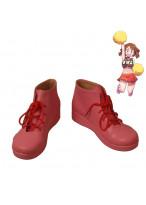 My Hero Academia Cheer Girl Cheerleader Cosplay Shoes Women Boots