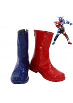 Kamen Rider Build Be The One Kamen Rider Build Cosplay Shoes Men Boots