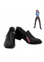 OW Overwatch D.VA Dva Skin Police Officer Cosplay Shoes Women Boots