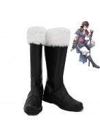 Fire Emblem Awakening Lon'qu Cosplay Shoes Men Boots