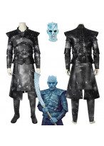 Game of Thrones 8 Night King Cosplay Costume Halloween Outfit