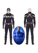 Avengers 4 Endgame Captain America Steve Rogers Cosplay Costume Full Suit