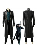 Devil May Cry V DMC 5 Vergil Cosplay Costume Coat Outfit