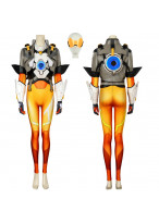 Overwatch 2 OW Tracer Lena Oxton Costume Cosplay Suit Women's Outfit
