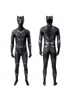 Black Panther Costume Cosplay Suit T'Challa Captain America Civil War Ver 1