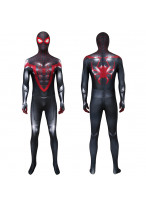 Spider-Man Miles Morales PS5 Costume Cosplay Suit 3D Printed Outfit