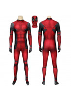 Deadpool Costume Cosplay Suit Wade Wilson 3D Printed Men Outfit