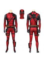 Deadpool Costume Cosplay Suit Wade Wilson 3D Printed Men Outfit Ver 1
