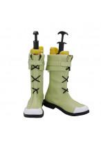 Volke Shoes Cosplay Fire Emblem Men Boots Green Version