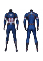 Captain America Costume Cosplay Suit Steve Rogers Avengers Age of Ultron 3D Printed