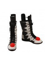 Pennywise Shoes Cosplay The Dancing Clown IT Halloween Men Boots Ver 2