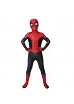 Spider Man Costume Cosplay Suit Kids Peter Parker Spider Man: Far From Home 3D Printed