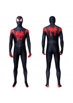 Miles Morales Costume Cosplay Suit Spider-Man: Into the Spider-Verse 3D Printed Version 2