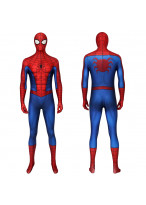 Spider-Man PS4 Costume Cosplay Classic Suit Peter Parker 3D Printed
