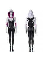 Spider-Gwen Costume Cosplay Jumpsuit Gwen Stacy Spider-Man Into the Spider-Verse 3D Printed