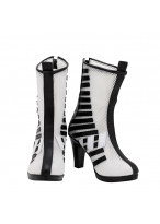 Harley Quinn Shoes Cosplay Birds of Prey Women Boots Ver 1