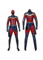 Captain Marvel Suit Cosplay Costume Carol Danvers Avengers Endgame Outfit