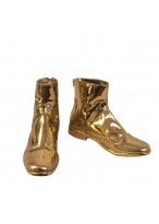 Virgo Shaka Shoes Cosplay Gold Saints Saint Seiya Men Boots