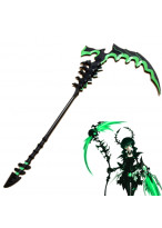 Black Rock Shooter DEAD MASTER DEAD SCYTHE PVC Cosplay Prop