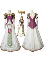 The Legend of Zelda Twilight Princess Princess Zelda Cosplay Costume Fancy Dress 3D Printed
