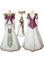 The Legend of Zelda Twilight Princess Princess Zelda Cosplay Costume Women Fancy Dress