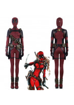 Deadpool Lady Cosplay Costume Women Vision