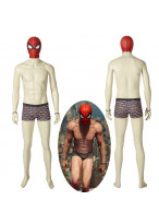 Spider-Man PS4 Peter Parker Cosplay Costume with Shorts Mask