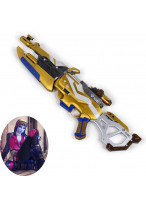 OW Overwatch Widowmaker Winter Wonderland Gun Weapon Cosplay Prop