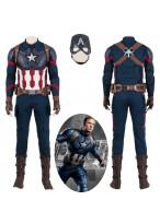 Avengers Endgame Captain America Steve Rogers Cosplay Costume Full Suit Version 1