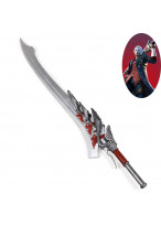 Devil May Cry V DMC 5 Nero Red Queen Broadsword Cosplay Prop
