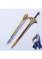 Fate Prototype Saber Excalibur Sword with Sheath Cosplay Prop