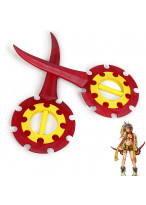 FINAL FANTASY Rikku Flywheel Daggers Replica Cosplay Prop 2 PCS