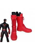 Daredevil Jack Cosplay Boots Red Shoes
