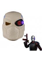 Suicide Squad Deadshot Mask Helmet PVC Cosplay Prop