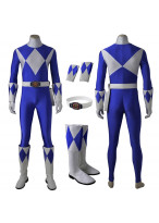 Mighty Morphin Power Rangers Tricera Ranger Zyuranger Cosplay Costume
