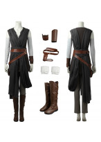 Top Grade Star Wars The Last Jedi Rey Cosplay Costume