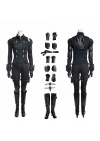 Avengers Infinity War Black Widow Cosplay Costume