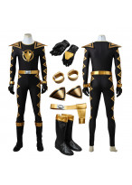 Power Rangers Dino Thunder Black Dino Ranger Cosplay Costume 3D Printed