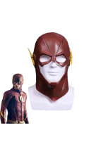 The Flash Barry Allen Mask Helmet Cosplay Prop