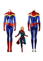 Original Captain Marvel Ms.Marvel Carol Danvers Cosplay Costume