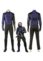 New Avengers Infinity War Winter Soldier Cosplay Costume