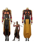 Black Panther Okoye Cosplay Costume 3D Printed