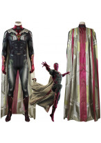 Avengers Infinity War Vision Cosplay Costume 3D Printed