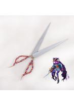 Fate Grand Order Caster Scissors Cosplay Prop